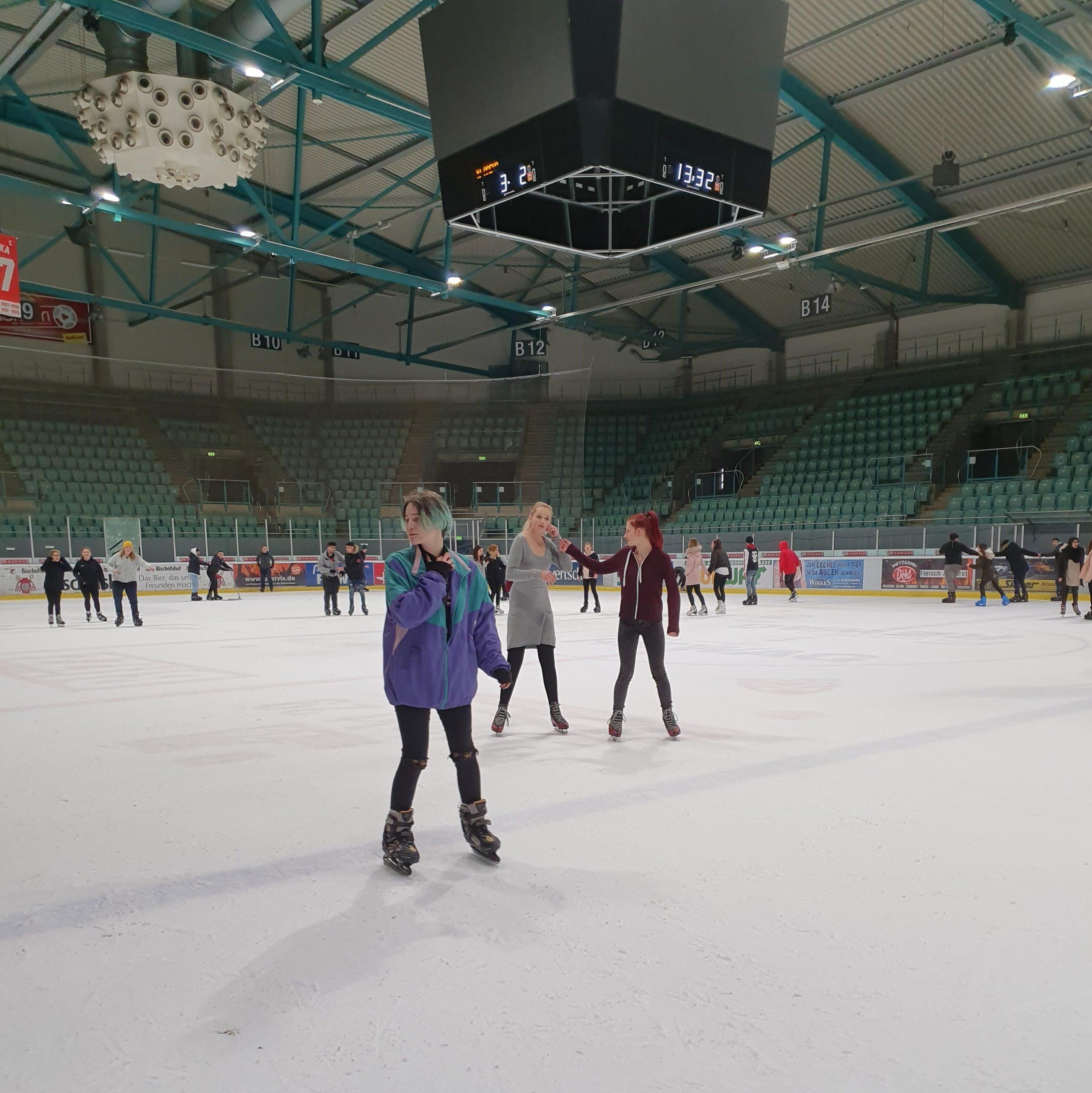 Regensburg Eislaufen